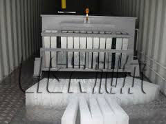 Trung Quốc LIER 4000 KG Containerized Ice Plant , Ice Block Maker Easy Maintenance nhà phân phối