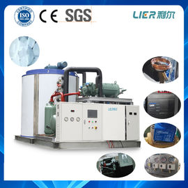 Trung Quốc 30T Water Cooling Industrial Flake Ice Maker Equipment , Industrial Ice Maker Bitzer Compressor nhà phân phối